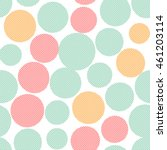 seamless pattern with colorful... | Shutterstock .eps vector #461203114