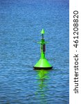 Fairway With Green Buoy In A...