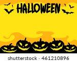 graphic halloween  vector | Shutterstock .eps vector #461210896