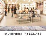 wooden board empty table in... | Shutterstock . vector #461221468