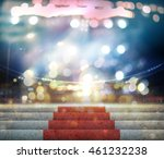 stage lighting background 3d... | Shutterstock . vector #461232238