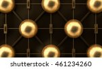 steampunk system gold abstract... | Shutterstock . vector #461234260