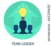 vector illustration of team... | Shutterstock .eps vector #461234620