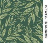 seamless grunge floral pattern... | Shutterstock .eps vector #46125373