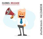 illustration of office theme....   Shutterstock .eps vector #461268838