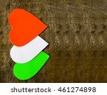 indian independence day... | Shutterstock . vector #461274898