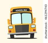 vector illustration school bus | Shutterstock .eps vector #461294743