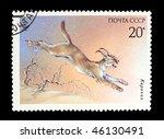 ussr   circa 1985  a stamp... | Shutterstock . vector #46130491