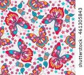 seamless texture. multicolor... | Shutterstock .eps vector #461305843