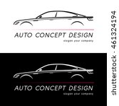 auto concept design card....   Shutterstock .eps vector #461324194