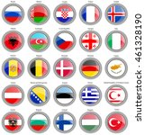 set of icons. flags of the...   Shutterstock .eps vector #461328190