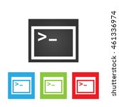 coding icon. simple logo of...