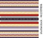 ethnic boho seamless pattern....   Shutterstock .eps vector #461339806