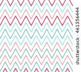 seamless wavy lines pattern...   Shutterstock .eps vector #461356444