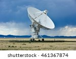 the karl g. jansky very large...   Shutterstock . vector #461367874