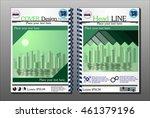 annual report brochure design... | Shutterstock .eps vector #461379196