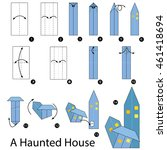 step by step instructions how... | Shutterstock .eps vector #461418694
