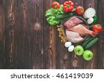 natural products for muscle... | Shutterstock . vector #461419039