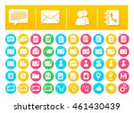 vector icon pack messaging and...