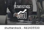 business progress report graph... | Shutterstock . vector #461435533