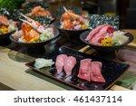Variety Of Japanese Food Set....