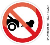 no idling or idle reduction... | Shutterstock . vector #461446234