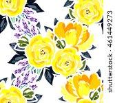 abstract elegance seamless... | Shutterstock . vector #461449273