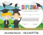 preschool elementary school... | Shutterstock .eps vector #461469736
