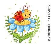 vector illustration in cartoon... | Shutterstock .eps vector #461472940