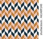 seamless colorful zigzag... | Shutterstock .eps vector #461489140