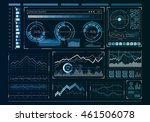 human user display . mixed media | Shutterstock . vector #461506078