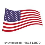 flag united states of america... | Shutterstock .eps vector #461512870
