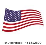 flag united states of america...   Shutterstock .eps vector #461512870