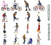 vector illustration of a set of ... | Shutterstock .eps vector #461522023