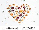 Autumn Composition. Heart...