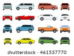 car type and model objects... | Shutterstock .eps vector #461537770