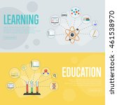 education vector infographics... | Shutterstock .eps vector #461538970