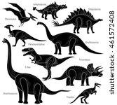 vector illustration isolated... | Shutterstock .eps vector #461572408