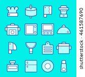 kitchen icon | Shutterstock .eps vector #461587690