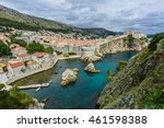 Panoramic View Of Dubrovnik ...