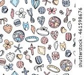 Seamless Jewellery Pattern With ...