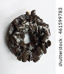doughnut chocolate | Shutterstock . vector #461599783
