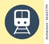 web icon of train. | Shutterstock .eps vector #461621794