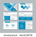 page presentation layout design ... | Shutterstock .eps vector #461623078