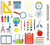 school and education workplace... | Shutterstock . vector #461632069