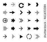 arrow icons set   Shutterstock .eps vector #461653384