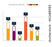 infographic template. vector... | Shutterstock .eps vector #461688583
