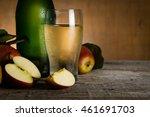 Apple Cider In Glass Bottle...