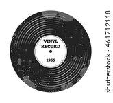 gramophone vinyl lp record.... | Shutterstock .eps vector #461712118