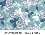 vector seamless pattern with... | Shutterstock .eps vector #461717059